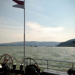 Crossing the Danube River
