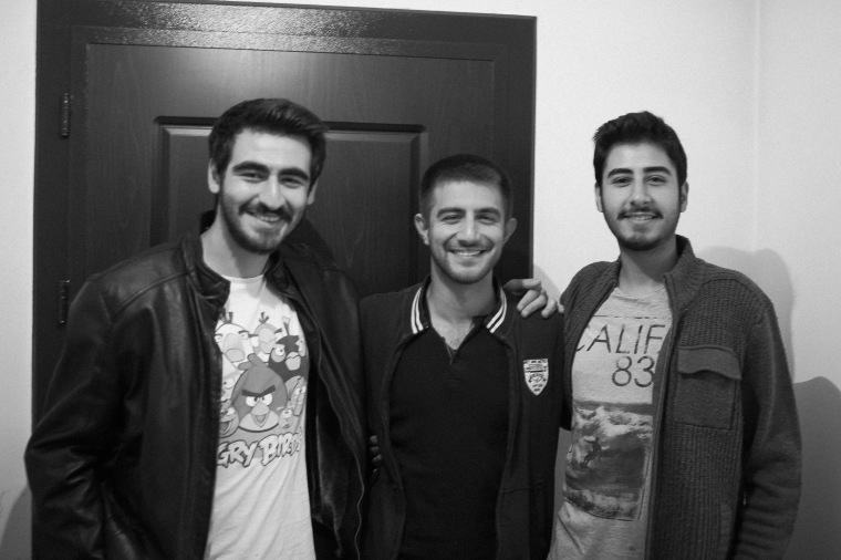From Left to Right: Magsud, Fatih and Sinan